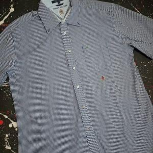 Tommy Hilfiger vintage flannel button down shirt
